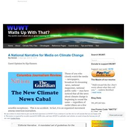 A National Narrative for Media on Climate Change