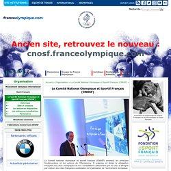 Le Comité National Olympique et Sportif Français (CNOSF)