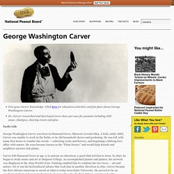 National Peanut Board » George Washington Carver
