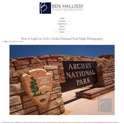 Arches National Park Night Photography