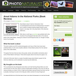 Ansel Adams in the National Parks (Book Review)