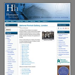 National Portrait Gallery, London | Humanist Heritage