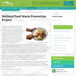 National Food Waste Prevention Project