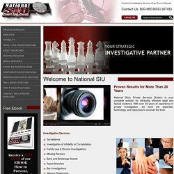 National Private Investigators