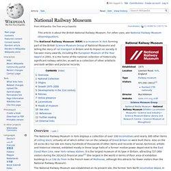National Railway Museum - Wikipedia