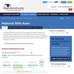 National Rifle Assn: Summary