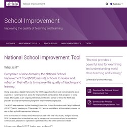 National School Improvement Tool - ACER
