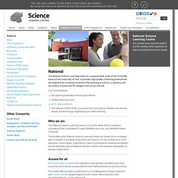 National — Science Learning Centres Portal