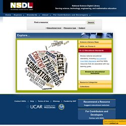 NSDL.org - The National Science Digital Library