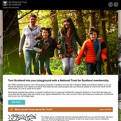 National Trust for Scotland Membership
