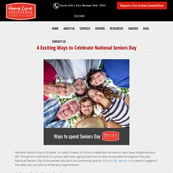 National Seniors Day: 4 Fun Ways to Celebrate This Year