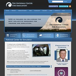 National Center for Simulation | Orlando, Florida Simulation