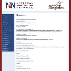 National Storytelling Network
