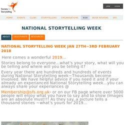 The Society for Storytelling