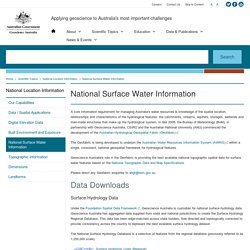 National Surface Water Information