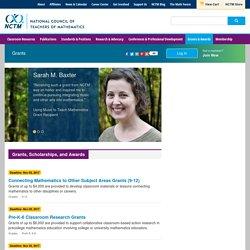 Grants - National Council of Teachers of Mathematics