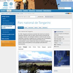 Parc national de Tongariro