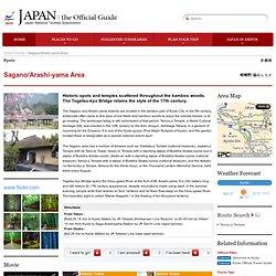 Sagano/Arashi-yama Area