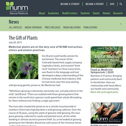 The Gift of Plants - National University of Natural Medicine