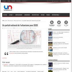 Un portail national de l'urbanisme pour 2020