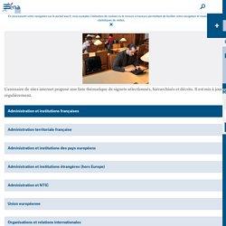 Annuaire de sites- Ecole Nationale d'Administration (ENA)