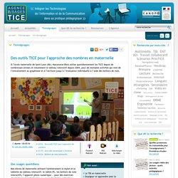 L'Agence nationale des Usages des TICE - Des outils TICE pour l'approche des nombres en maternelle