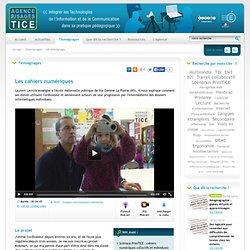 L'Agence nationale des Usages des TICE - Les cahiers numériques