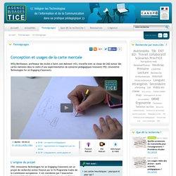 L'Agence nationale des Usages des TICE - Conception et usages de la carte mentale