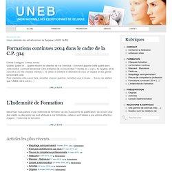 Union nationale des esthéticiennes de Belgique