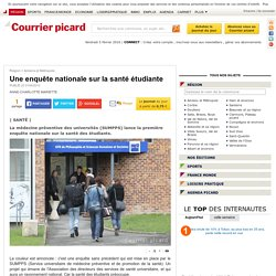Une enquête nationale sur la santé étudiante - Amiens et Métropole