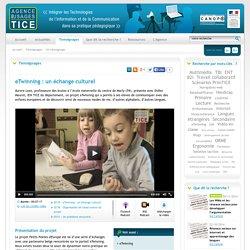 L'Agence nationale des Usages des TICE - eTwinning : un échange culturel