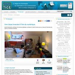 Usages des TICE - Une classe inversée à l'ère du numérique