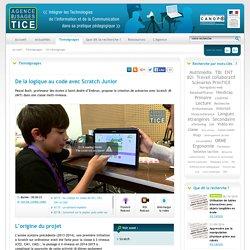 L'Agence nationale des Usages des TICE - De la logique au code avec Scratch Junior