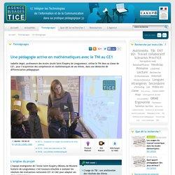 L'Agence nationale des Usages des TICE - Une pédagogie active en mathématiques avec le TNI au CE1