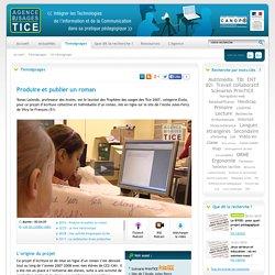 L'Agence nationale des Usages des TICE - Produire et publier un roman