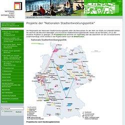 Nationale Stadtentwicklungspolitik - Projekte
