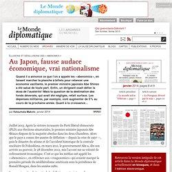 Au Japon, fausse audace économique, vrai nationalisme, par Katsumata Makoto