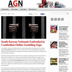 South Korean Nationals Embroiled in Cambodian Online Gambling Saga — Gambling News