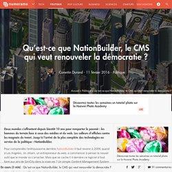 Qu'est-ce que NationBuilder, le CMS qui veut renouveler la démocratie ? - Politique