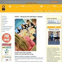 CETIS - Centrum för tekniken i skolan - Nationellt resurscentrum i teknik