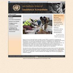 Les Nations Unies et l'assistance humanitaire