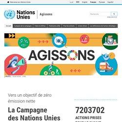 Citoyenneté_Nations Unies - Campagne ActNow: 10 actions pour le climat_Nations unies