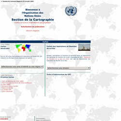 United Nations Cartographic Section [eng][fr]