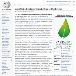 2015 United Nations Climate Change Conference