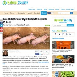 NATURAL SOCIETY 11/01/15 Banned in 160 Nations, Why is This Growth Hormone in U.S. Meat?