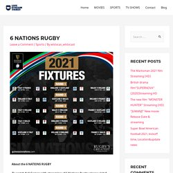 6 NATIONS RUGBY - Live Stream Ticket