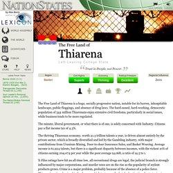 The Free Land of Thiarena