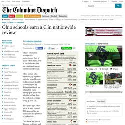 Ohio schools earn a C in nationwide review