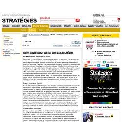 Native Advertising : qui fait quoi dans les médias - page 2