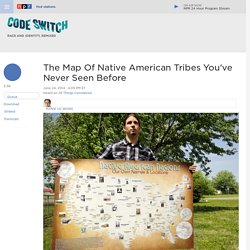 The Map Of Native American Tribes You've Never Seen Before : Code Switch